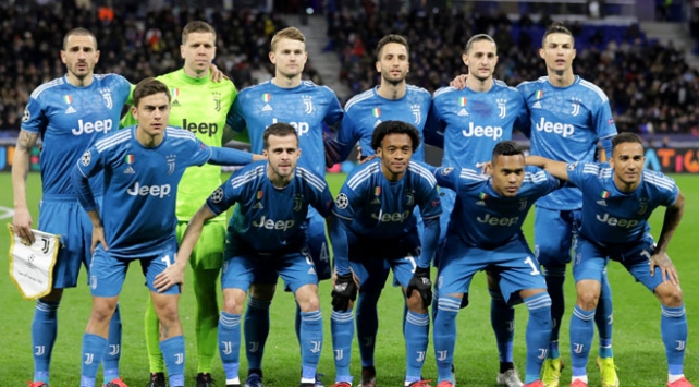 Juventus kadrosunun maaşı düşürüldü