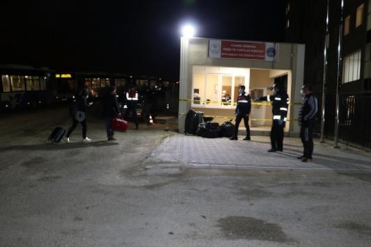 ABDden gelen 241 kişi Kastamonudaki yurda yerleştirildi