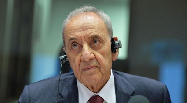 Lübnan Meclis Başkanı Berri: Harekete geçilmezse hükümetten çekiliriz