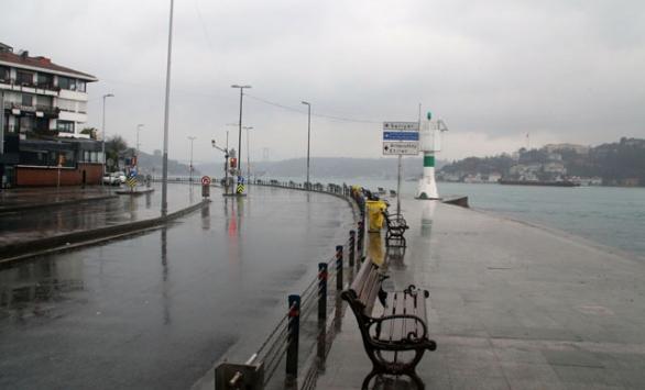 İstanbullular bu pazar sabahı evde kaldı