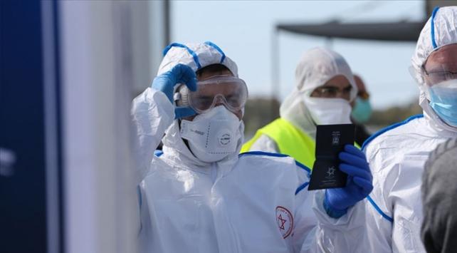 İsrailde koronavirüs vaka sayısı 3 bin 865e yükseldi