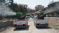 Ankara'da 15 bin nokta dezenfekte edildi