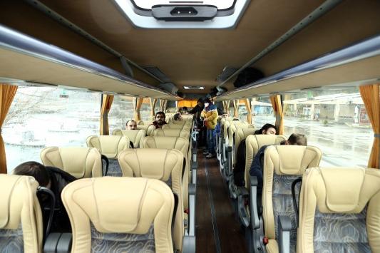 Harem Otogarından son otobüs hareket etti