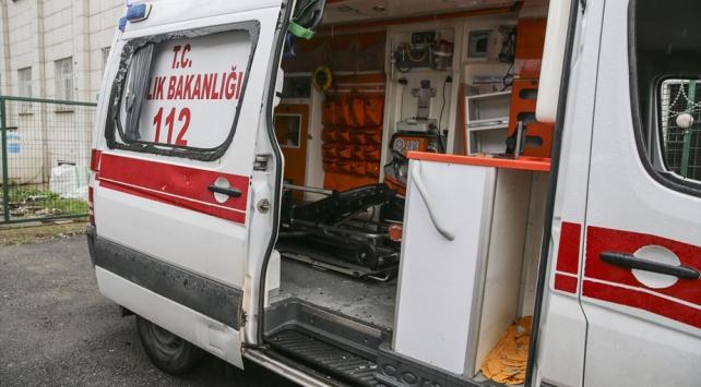 Ambulansın camlarını kıran şüpheliler tutuklandı