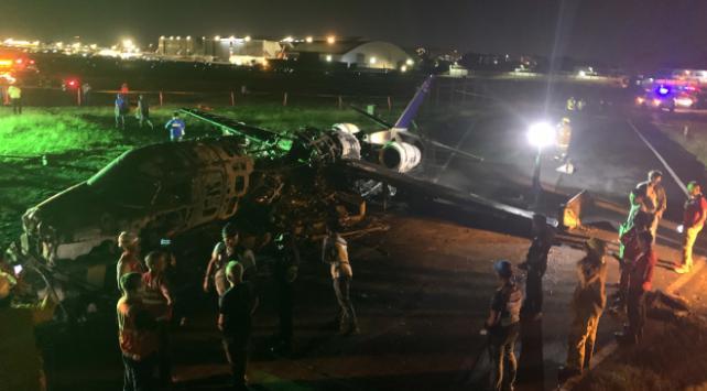 Filipinlerde uçak kazası: 8 ölü
