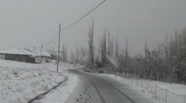Sivas ve Ardahanda kar yağışı etkili oldu