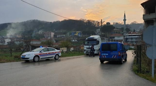 Çanakkalede bir köy karantinaya alındı
