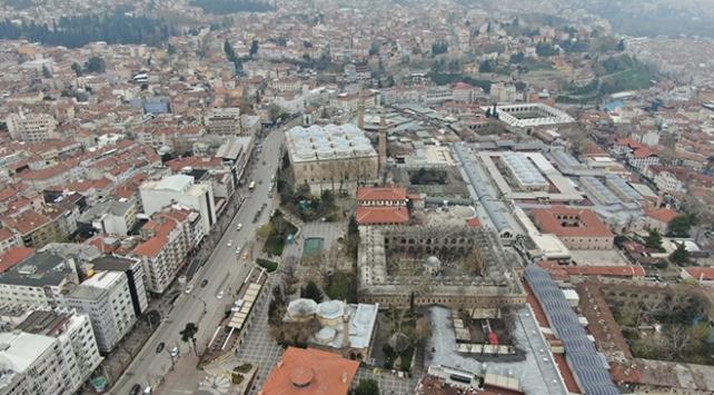 Bursada Tarihi Çarşı ve Hanlar Bölgesi 6 Nisana kadar kapalı olacak