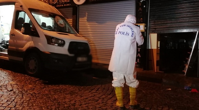 İstanbulda iş hanında yangın: 1 ölü