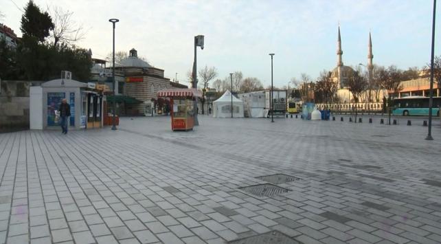 Üsküdar Meydanı ve sahili sessiz
