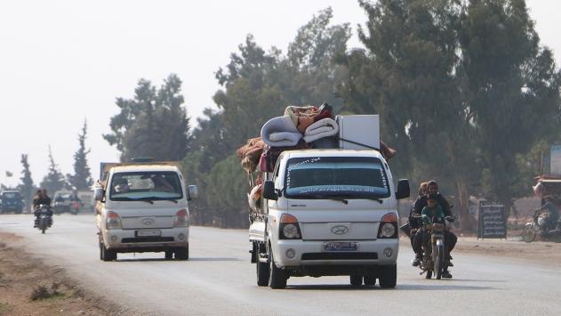 İdlibde ateşkesten sonra yaklaşık 35 bin sivil evlerine döndü