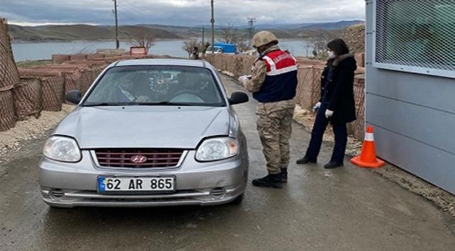Tuncelide 1 köy karantinaya alındı