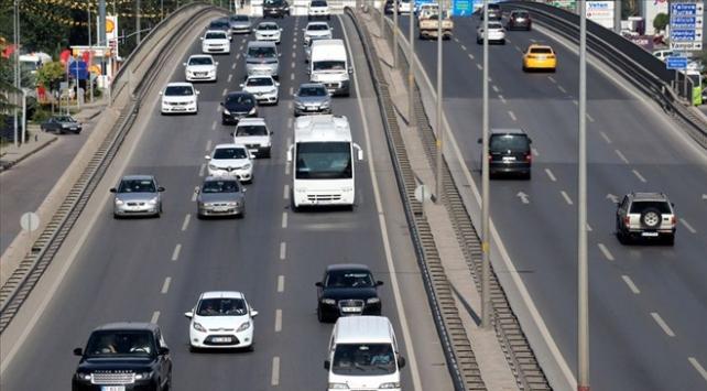 Trafiğe 1 ayda 53 bin 135 aracın kaydı yapıldı