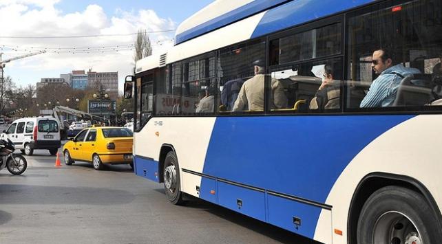Ankarada toplu ulaşım aracı kullanımı yüzde 84 azaldı
