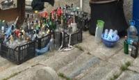 Adana'da operasyon: 525 litre sahte içki ele geçirildi