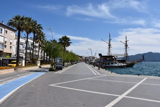 Turizm merkezlerinde sakinlik hakim