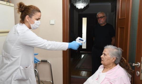 Samsunda 65 yaş üstü vatandaşlara evde sağlık ve temizlik hizmeti
