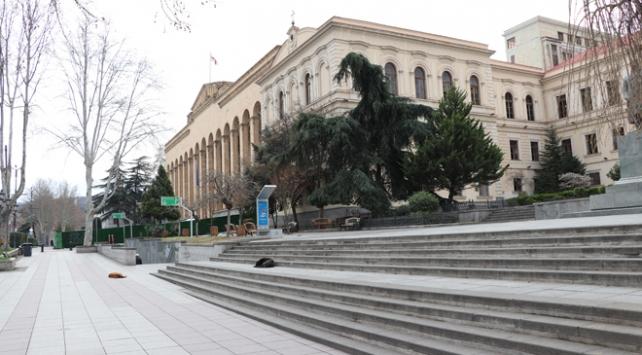 Gürcistanda sokağa çıkma yasağı