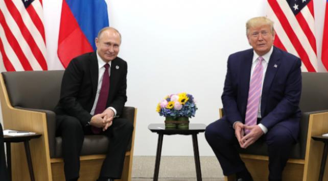 Putin ve Trumptan koronavirüs görüşmesi