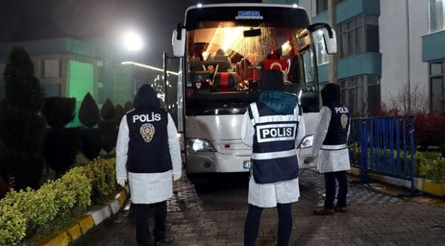 ABDden gelen 210 kişi Manisada karantinaya alındı