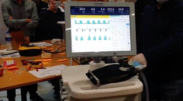 Cumhurbaşkanı Erdoğandan yerli solunum cihazı müjdesi