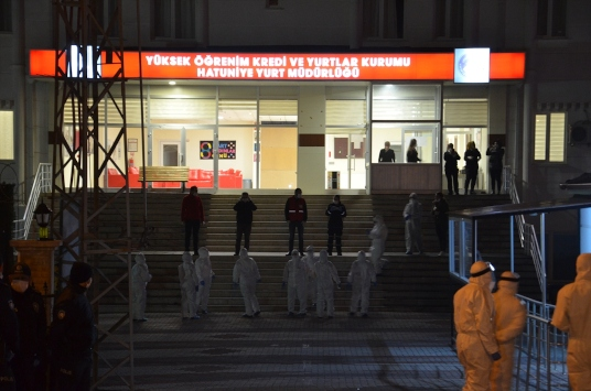 KKTCden gelen 332 kişi Karamanda yurda yerleştirildi