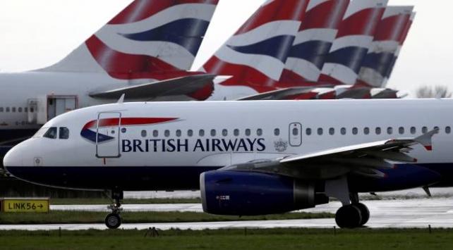 British Airways uçuşlarını askıya aldı