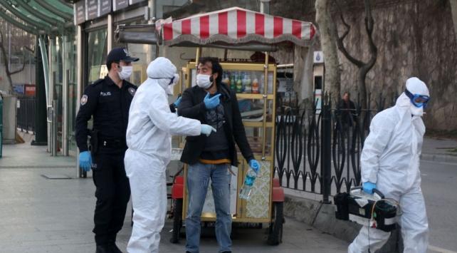 Öksürerek polisten kurtulmaya çalıştı