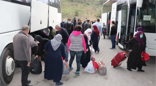 Ankarada karantina süreleri bitenler evlerine gönderildi