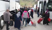 Ankara'da karantina süreleri bitenler evlerine gönderildi