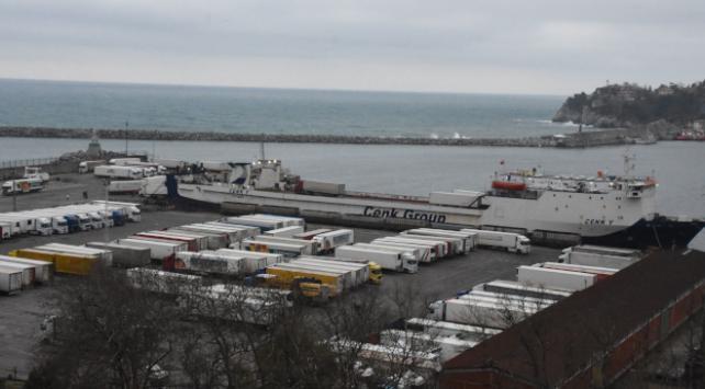 Ukraynadan gelen şoförler öğrenci yurduna yerleştirildi