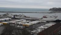 Ukrayna'dan gelen şoförler öğrenci yurduna yerleştirildi