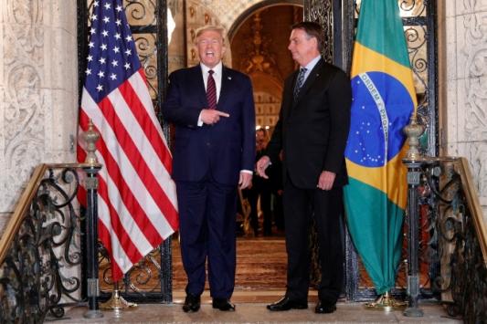 Trump ve Bolsonaro Covid-19u görüştü
