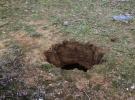 Konya'da bu kez tünelli obruk oluştu