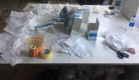 İstanbul'da kaçak üretilen 20 bin 650 maskeye el konuldu