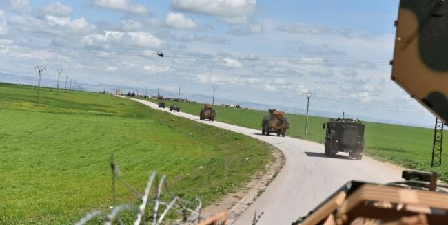 Türk-Rus devriyesi koronavirüs tedbirleriyle yapıldı