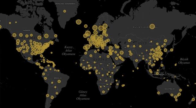 Dünya genelinde koronavirüs vaka sayısı 1 milyonu geçti