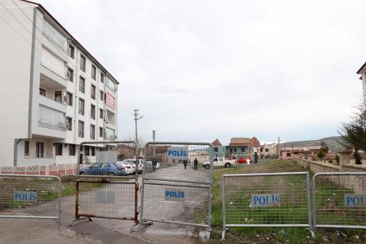 Elazığda 2 apartman karantinaya alındı