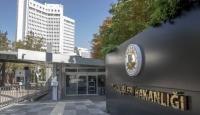 Türkiye'den Miçotatakis'in mektubuna tepki