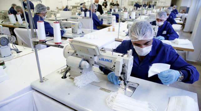Dikimevlerinde haftada 1 milyon maske üretiliyor