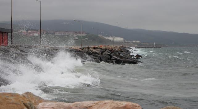 Meteorolojiden Marmara için fırtına uyarısı