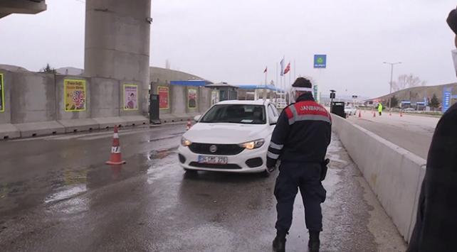 Ankarada araç giriş çıkışlarına sıkı denetim
