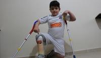 Savaşın engelli bıraktığı Hamis'e Brezilya'dan davet
