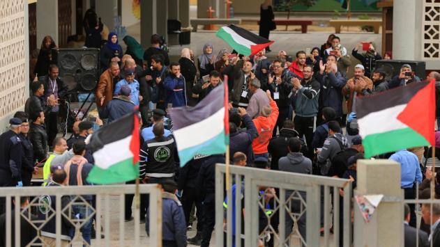 Gazze'de karantinasını dolduranlar evlerine döndü