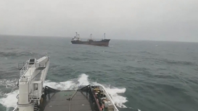 Şile açıklarında kargo gemisi sürüklendi