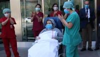 80 yaş üstü çift koronavirüsü yendi