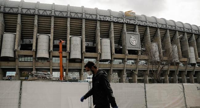 Santiago Bernabeu Stadına koronavirüs engeli