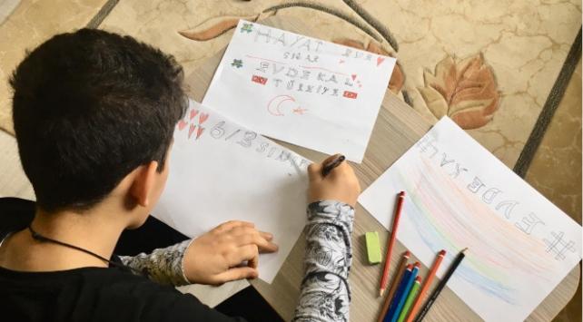 Evde kalan çocuklara özel yarışma