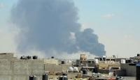 Libya'da darbecilere giden yardım konvoyu vuruldu