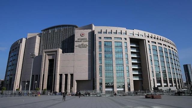 İstanbul Adalet Sarayı'nda koronavirüs tedbirleri devrede